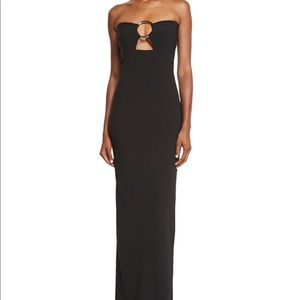 Solace London Brand New strapless gown